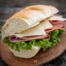 Ham and Swiss Baquette with Spicy Honey Mustard 2