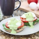 Eggs Benedict with Spinach, Tomato and Avocado Hollandaise 3