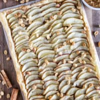 Peanut Butter and Apple Tart