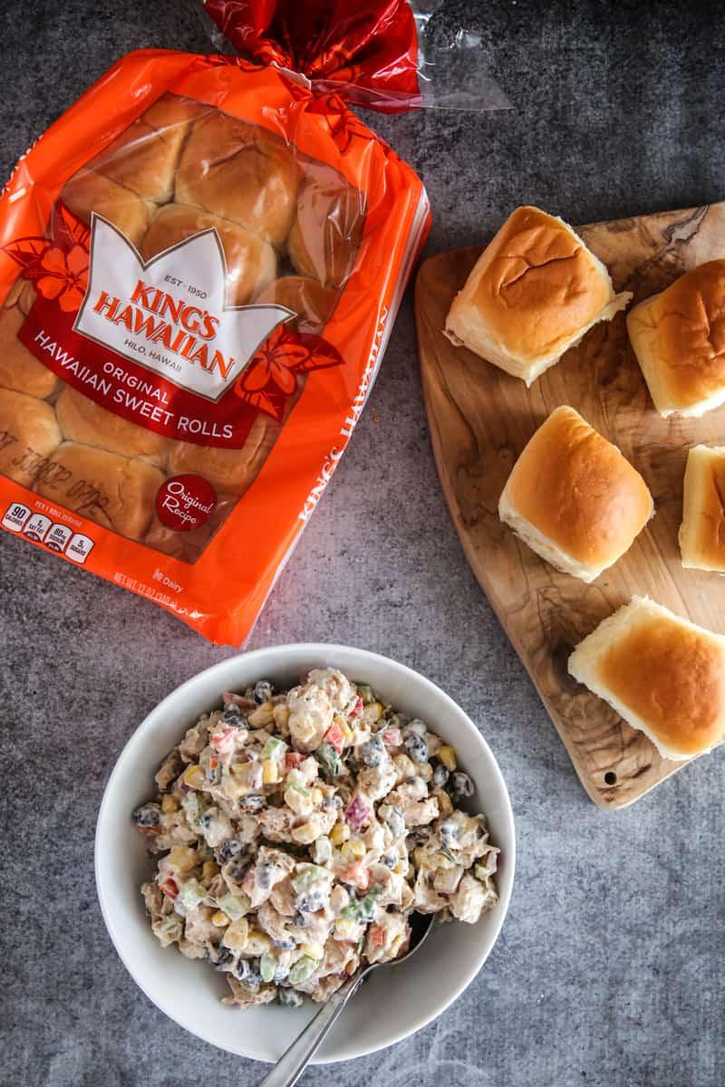 Tex Mex Chicken Salad Sliders Recipe