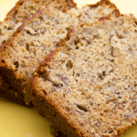 Banana Nut Bread with Streusal Topping