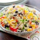 Black Bean Mango Quinoa Salad 2