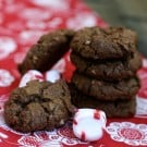 Chocolate Peppermint Cookies 2