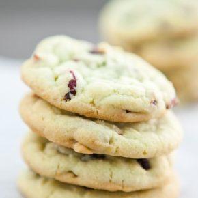 Cranberry Pistachio Pudding Cookies 3