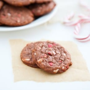 Chocolate Pudding Peppermint Cookies 1