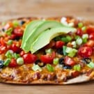 Mexican Flatbread Pizzas