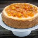 Orange Cheesecake with Candied Kumquats and a KitchenAid Giveaway 8