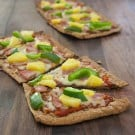Ham and Pineapple Flat Bread Pizzas 2