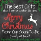 Merry Christmas and A Big Announcement!
