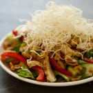 Asian Style Cashew Chicken Salad with Sesame Soy Vinaigrette 1