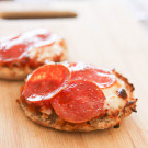 After School Snack Time: English Muffin Pizzas 5