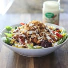 BBQ Chicken Ranch Salad 8