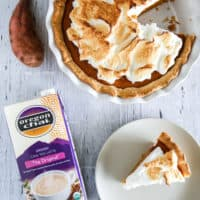 Chai Spiced Sweet Potato Pie