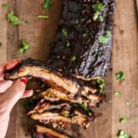 Grilled Cajun Ribs Recipe