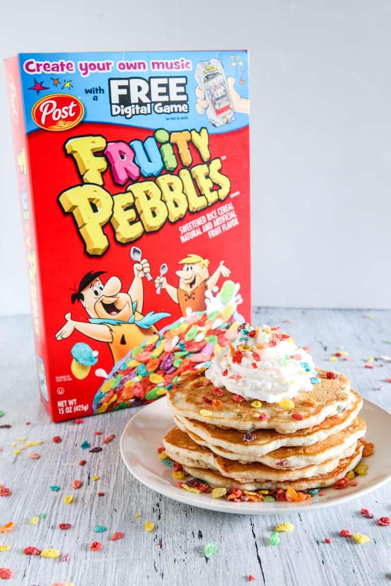 Fruity PEBBLES™ Pancakes Recipe